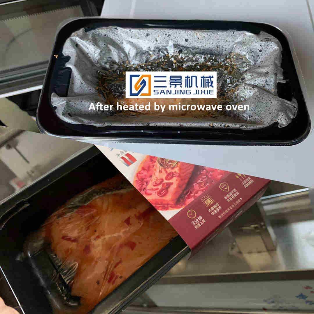 Sliced Salmon Vacuum Skin Packaging Machine