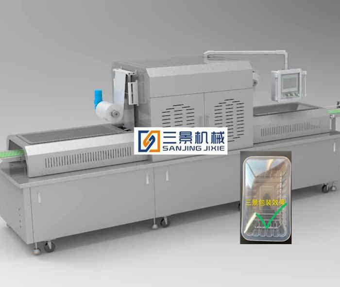 Automatische Verpackungsmaschine für modifizierte Atmosphäre