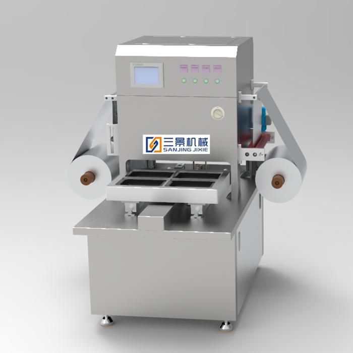 Halbautomatische Vakuum-Hautverpackungsmaschine