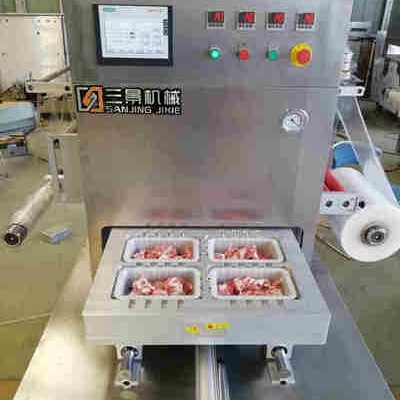 meat beef poultry MAP packing machine