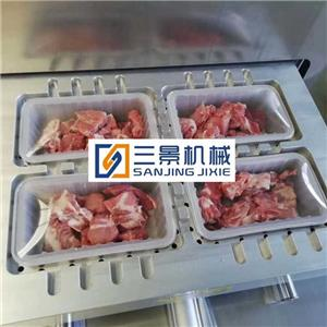 MAP packing machine for fresh meat