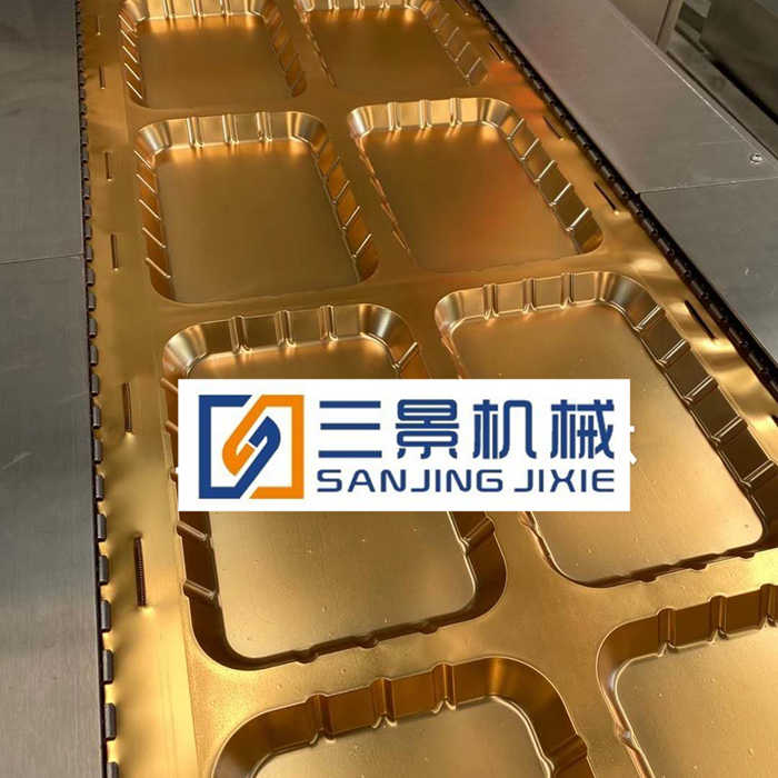 rigid film thermoforming vacuum packing machine