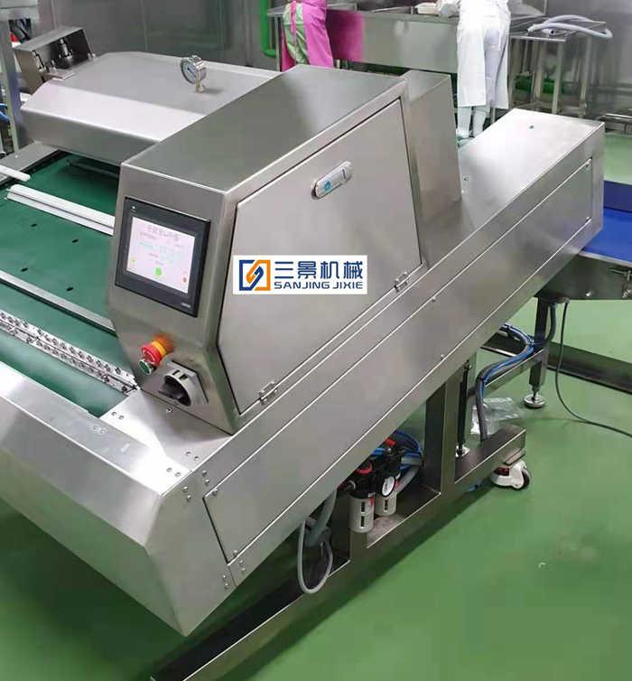 continuous vacuum packaging machine for big bag