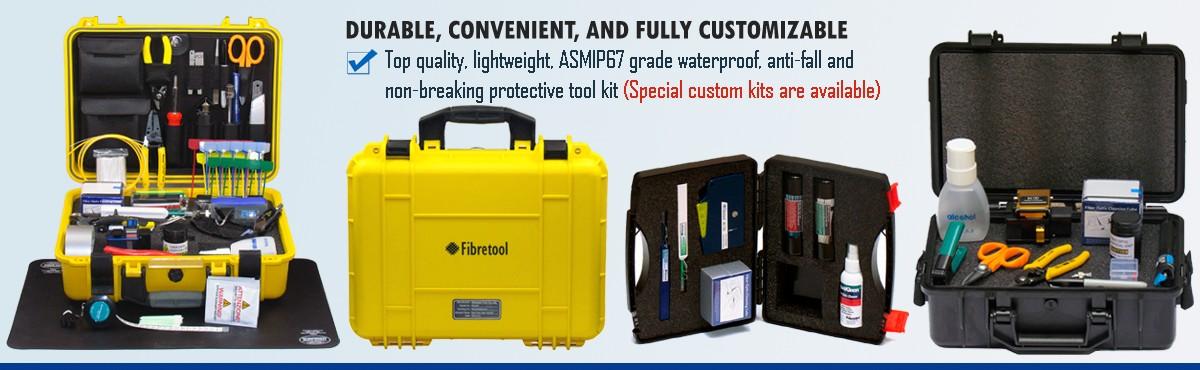 Fiber optic tool kit