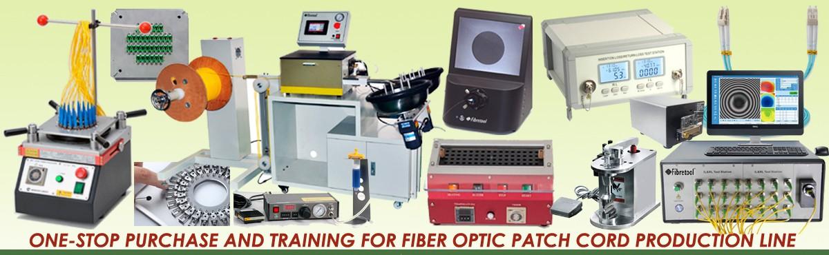 Fiber Patch Cord Production Line