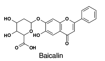 Wuhan HHD Baicalin CAS 491-67-8 Standard Sample For Research
