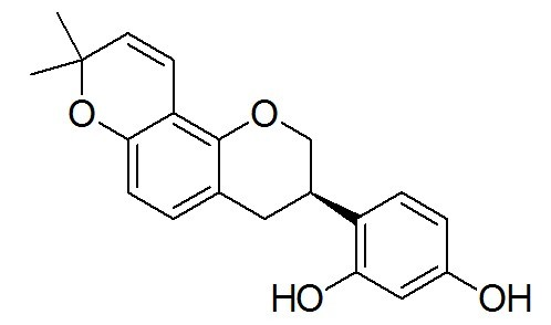 Glabridin CAS 59870-68-7 Standard Sample For Research