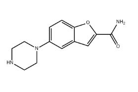 Wuhan HHD 5-(Piperazin-1-yl)benzofuran-2-carboxamide / Vilazodone Intermediate CAS 183288-46-2
