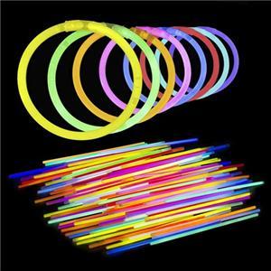 8 Inch Solid Color Glow Bracelet