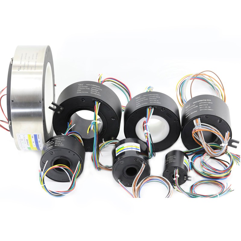 Through Bore Slip Ring With Standard Bore Diameters From 12.7 mm-180 mm