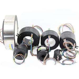 Gjennomsiktig Slip Ring Med Standard Bore Diameter Fra 12,7 mm-180 mm