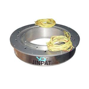 Bague collectrice à alésage traversant avec un diamètre d'alésage important jusqu'à 960 mm