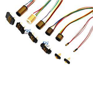 Gespleten Type Sleepring Capsule 2 ~ 15 Kringen Elektrische connectoren Stator en rotor gescheiden