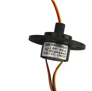 2A current slip ring and 6 Number of channels High life For medical equipment