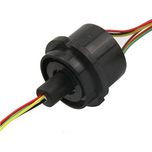 Slip Ring Rotary joint electrical connector cap type slip ring 6 circuit 2A can be used for robot