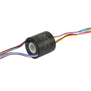 12 Wires 2A Slip Ring with 12.7mm Hole Dia with 240V Voltage for Electrical Devices