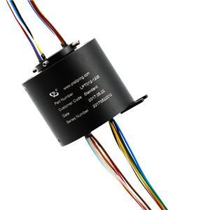 12 lanka liukurenkaan lähettäminen 5A Per Wire, luotettava toiminta, konepaja- Liukurenkaalla