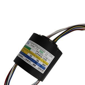 passante bor slip ring 12 circuito umidità 10A lavoro 60% UR inferiore al diametro del foro 12,7 millimetri, anello foro scorrimento