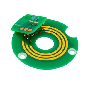 Flat Slip Rings ID 14 mm 360-degree continuous rotation to transmit power or data signals