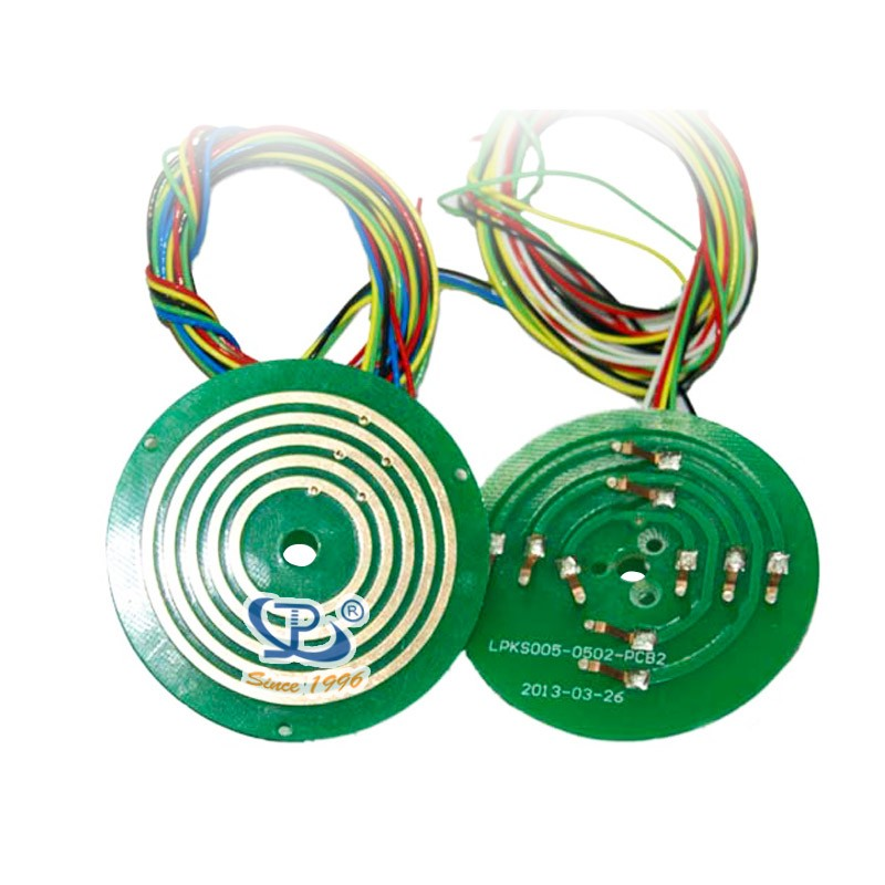 pcb slip ring Collector ring rotating electrical joint 300rpm 380vac slip ring