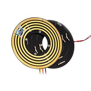 Flat Slip Ring 4 Circuits ,engineering machinery slip ring ,slip ring disk