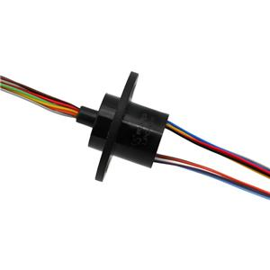 12 Wires Electrical Slip Ring with 2A Current & Large Dielectric Strength for Medical Facility