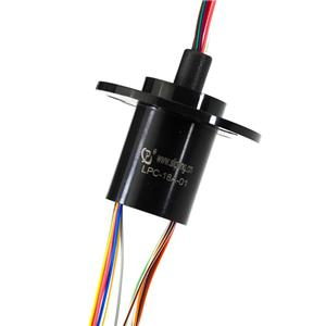 18 Circuits Electrical Slip Ring with 300rpm Working Speed for Electrical Testing Equipment