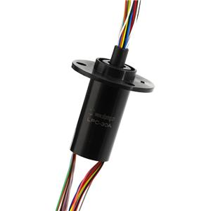 30 Wires Electrical Slip Ring Routing 2A & 240V Voltage with Optional Housing for Packaging Machines