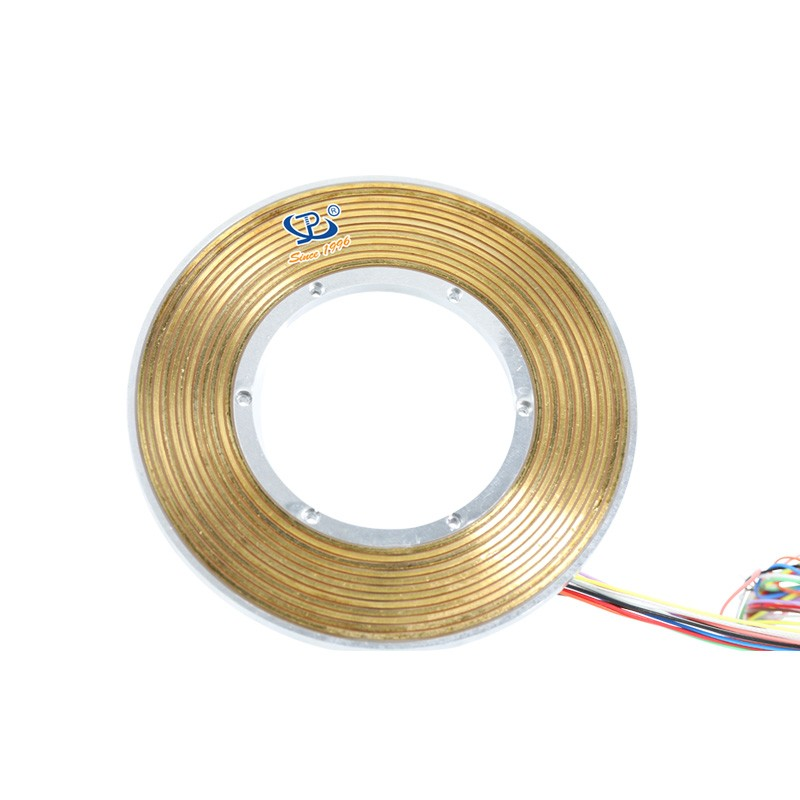 Pancake Slip Ring 12 Circuits with Aluminum Alloy Housing for Robots pcb slip ring