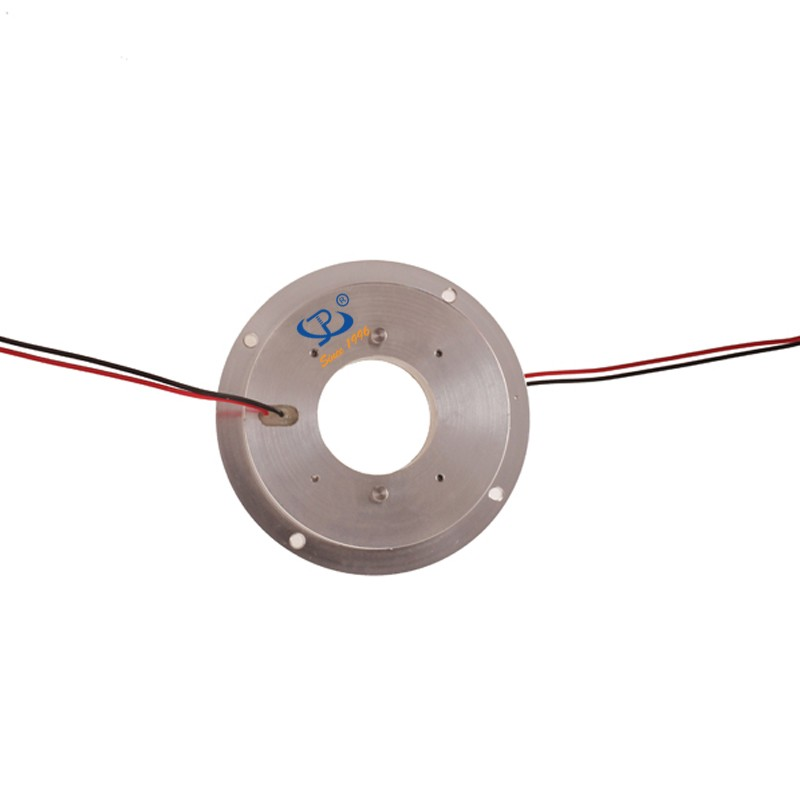 2 Channel slip ring flat with Large Dielectric Strength for Rotary Table