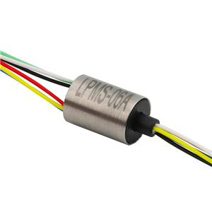auto slip ring 6 circuit 0.5A ultra-miniature Long life Can be used for monitoring miniature capsule slip rings