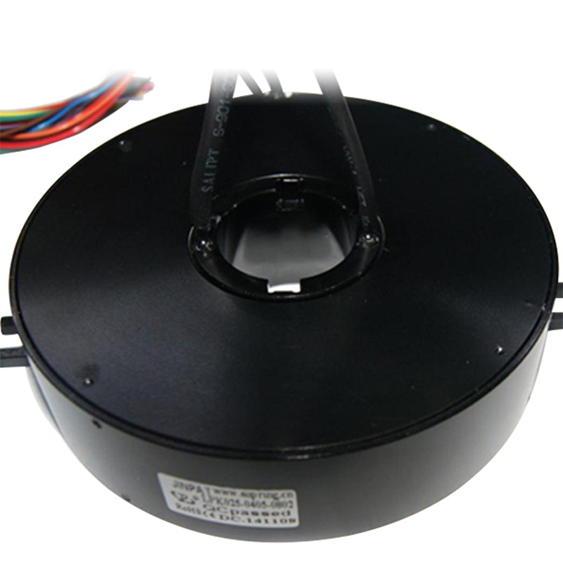 Pancake Slip Ring ,Working in a Wide Range of Temperature throughbore slip ring