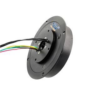 flat slip ring 100M Ethernet and Other Signals for Welding Equipment 2 wire slip ring 20a slip ring