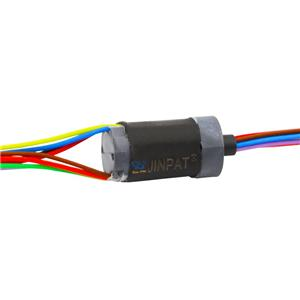 8 wire slip ring Low torque low electrical noise low loss maintenance free miniature slip ring