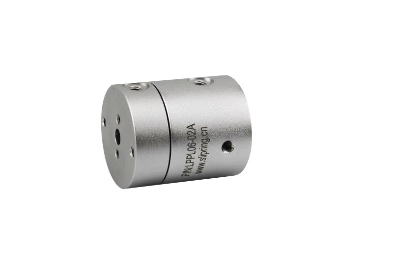 Slip Ring Rotary Union of 2 Channels Pneumatic Rotary Joint with Low Torque for Gas Transmission
