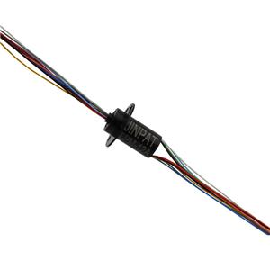 12 Circuits Miniature Slip Ring with 1A Current Per Circuit and Custom Hole for Medical Facility