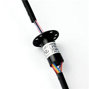 Smooth Capsule Slip Ring with Low Torque and Free Maintenance 2A Per Circuit for Industry Process Equipment