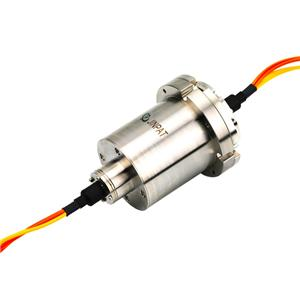 Long Life Slip Ring of 7 Channels Fiber Optic Rotary Joint for Seafloor Operation System
