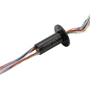 24 Circuits 240VAC lange levensduur Laag koppel kan worden gebruikt in elektrische testapparatuur, capsule slip ring connector