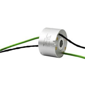 8 Circuits Trou traversant Transm bague collectrice itting électricité et signal pour le matériel médical