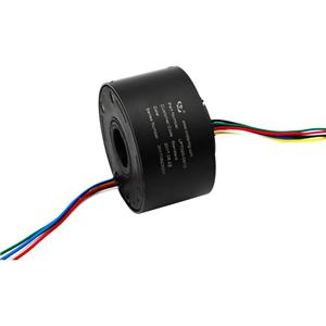 127mm through hole slip ring High Rotating Speed Reliable Transmission, Bore Slip Ring