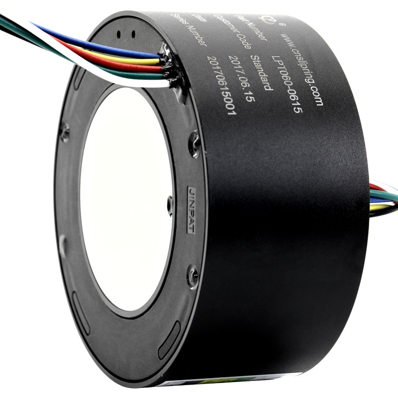 60 mmthrough bore slip ring 6 Circuits Transferring 15 A Current with 240V Voltage Manufacturers, 60 mmthrough bore slip ring 6 Circuits Transferring 15 A Current with 240V Voltage Factory, Supply 60 mmthrough bore slip ring 6 Circuits Transferring 15 A Current with 240V Voltage