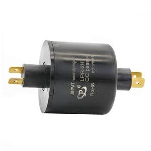 2 Circuits 240V Voltage Pin Connection Slip Ring with Engineering Plastic Housing for OEM Machinery