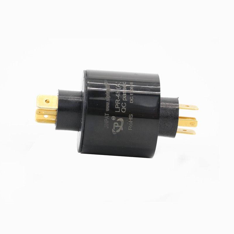 slip ring 380V can be used in industrial machinery 4 circuit 15A slip ring 4 wire