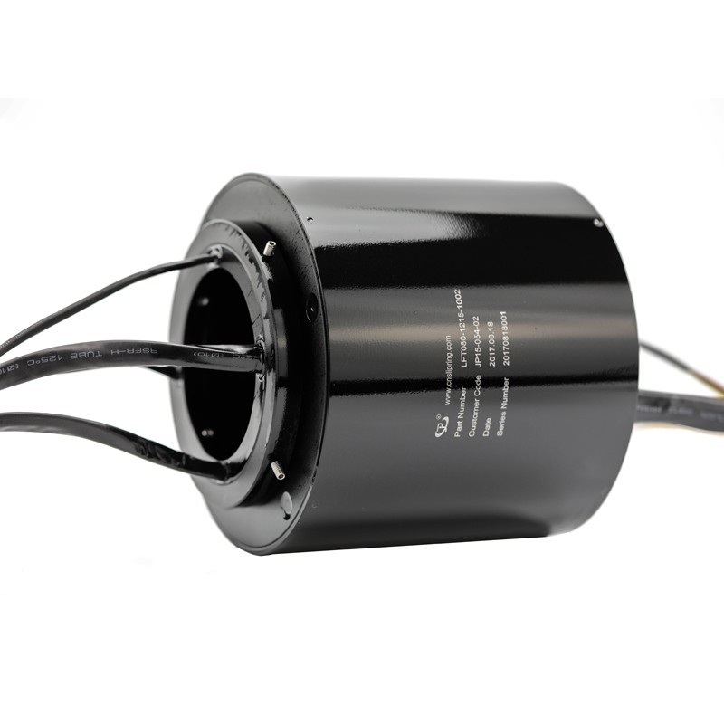 22 Circuits High Precision Rotary Slip Ring Small Resistance Fluctuation 83mm Bore Diameter