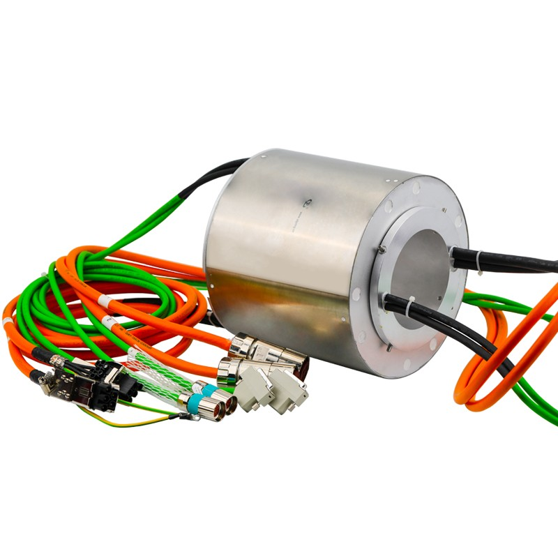slip ring 380v ,IP65 High Protection 27 Circuits,slip ring for cable reel