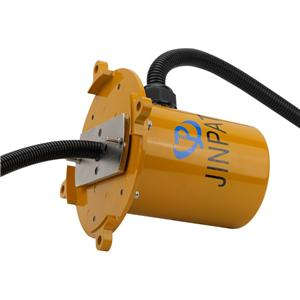 3 wire 30a slipring water proof slip ring , signal Low transmission loss,crane slip ring