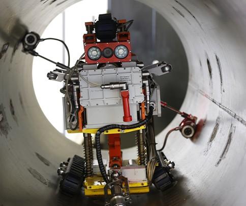 JINPAT Pipeline Inspection Robots Bagues collectrices super miniatures