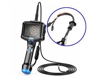 JINPAT Slip Rings Assist Industrial Endoscope Inspection