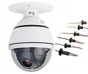 Bagues collectrices JINPAT pour caméras de surveillance et systèmes de surveillance